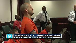 Former Martial Arts instructor sentenced - Video