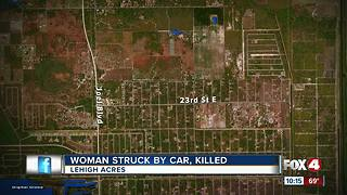Woman Struck by Car, Killed - Video