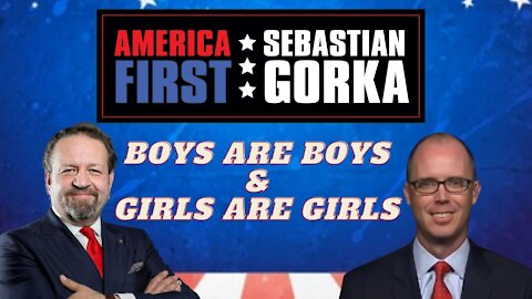 Boys are boys, girls are girls. The Federalist's Sean Davis with Sebastian Gorka on AMERICA First
