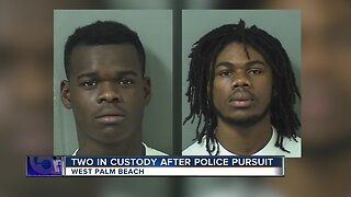 2 arrested after injuring officer while fleeing police in West Palm Beach