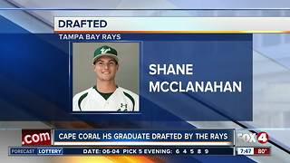 Cape Coral High grad drafted by Rays