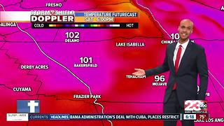 Record breaking heat for Kern County!