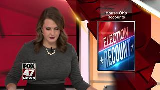 House OKs recounts only if candidate has chance to win - Video