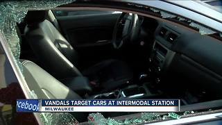Dozens of cars broken into at Milwaukee Intermodal Station - Video