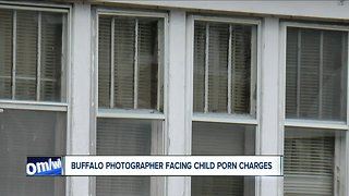 Buffalo photographer facing child porn charges