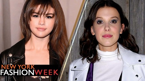Selena Gomez Debuts New 'Do & Millie Bobby Brown Has Us Guessing Her Age at New York Fashion Week