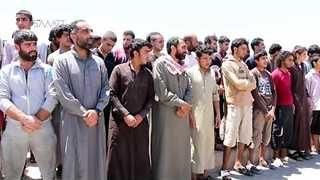 83 Former Islamic State Fighters Pardoned, Released by Raqqa Civil Council on Eid al-Fitr - Video