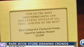 Rare bookstore drawing crowds - Video