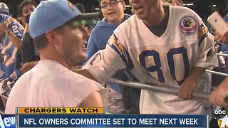 Chargers Watch: NFL owners committee set to meet next week - Video