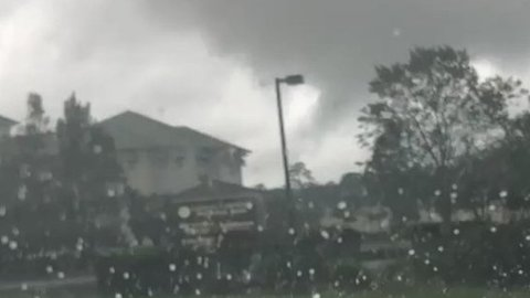 Possible Waterspout Spotted at Myrtle Beach, South Carolina