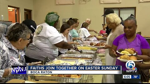 Faiths join together on Easter Sunday