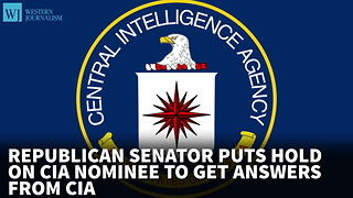 Republican Senator Puts Hold On CIA Nominee To Get Answers From CIA - Video