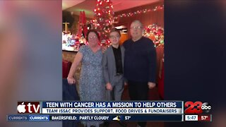 Bakersfield teen with cancer has a mission to help others