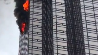 Deadly Fire Burns New York's Trump Tower - Video