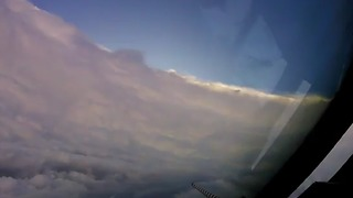 Jaw-dropping Footage From Inside The Eye Of A Hurricane - Video