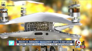 Mason County considers drone to aid first responders - Video