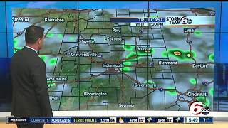 Heavy downpours expected, severe storm possible - Video