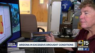 Arizona in excessive drought conditions - Video