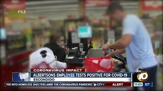 Grocery employee tests positive for COVID 19