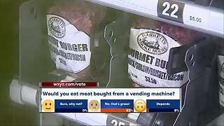 Michigan restaurant installs barbecue meat vending machine