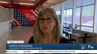 Tulsa Country Election Board: 'Your votes are secure'