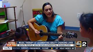 Music therapy is helping people with developmental disabilities