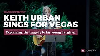 Keith Urban sings for Vegas | Rare Country - Video