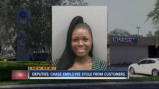 Chase call center employee arrested for stealing account information, making withdrawals - Video