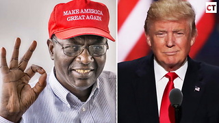 Malik Obama Drops Bombshell About Donald Trump - Video