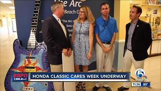 Honda Classic Cares Week begins - Video