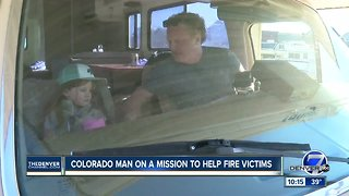 Denver man and his daughter are driving RV to Camp Fire to give it to family in need