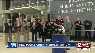 Broken Arrow has a new Police Chief - Video