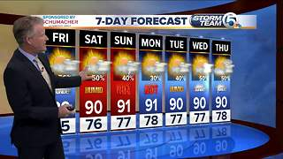Thursday night forecast