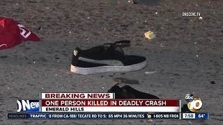 One person killed in deadly SR-94 crash - Video