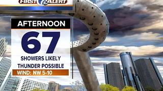 More afternoon showers