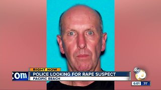 Police looking for Rape suspect