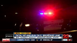 Fatal hit-and-run update from East Bakersfield