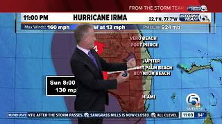 Hurricane Irma regains Category 5 strength over Cuba - Video