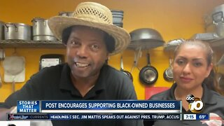 Viral post encourages people to support black-owned businesses in San Diego