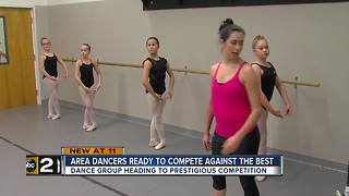 Local dancers gearing up for prestigious competition - Video