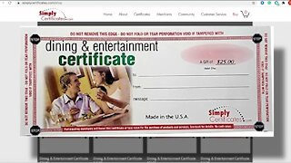 Company ordered to refund money from selling illegal gift cards