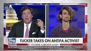 "Tucker Carlson Can't Believe His Guest's Answers: Are You Really A Professor?"" - Video"