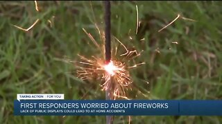 First responders worried about fireworks