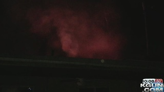 Northwest Fire crews fighting house fire - Video