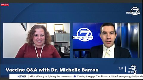 Vaccine Q&A with Dr. Michelle Barron, Colorado's top infectious disease expert