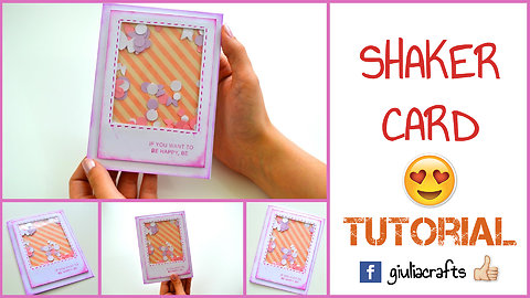 DIY crafts: How to make a shaker card