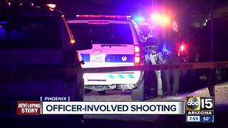 One shot, one in custody after officer-involved shooting in Phoenix