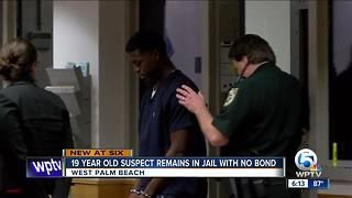 Bond hearing delayed for 19-year-old man charged in Makeva Jenkins' death - Video