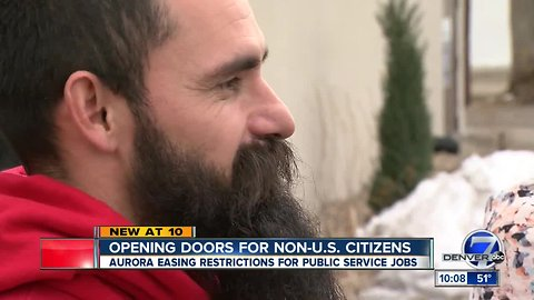 Aurora pushing plan to allow non-citizens to apply for police and fire jobs