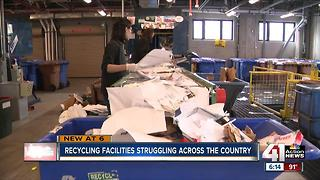 Recycling facilities declining, we could be to blame - Video